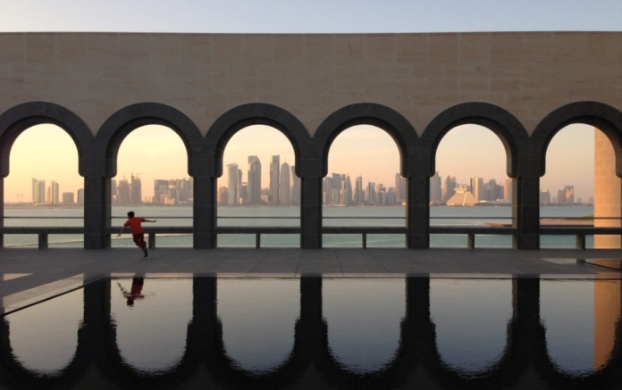 Doha_skyline_from_the_Museum_of_Islamic_Art,_Doha,_Qatar